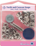 H409.NK Yacht and Caravan Snaps Starter Sets - Nickel